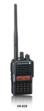 VX-829系列VHF/UHF 专业对讲机