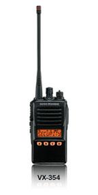 VX-354系列VHF/UHF 专业对讲机