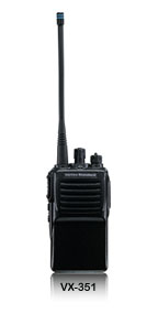 VX-351系列 VHF/UHF 专业对讲机